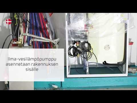 Nilan Compact PC AIR 9 - kuuden asunnon rivitalokohteessa