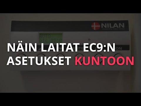 Näin laitat edellisen version Nilan EC9:n asetukset kuntoon