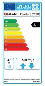 energiamerkki comfort CT500