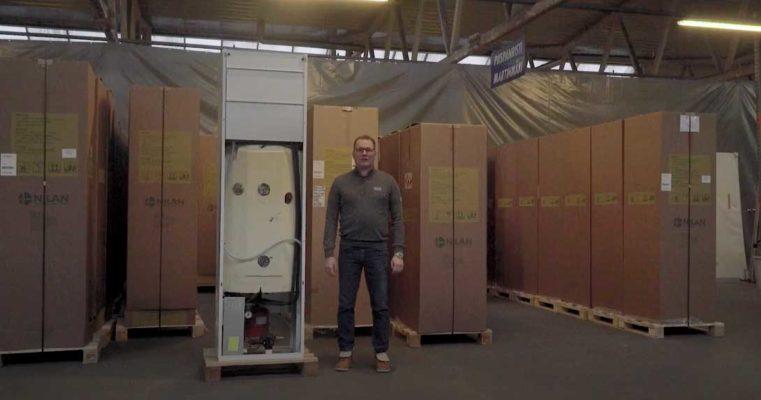 Nilan VGU 250 EK9 + Alig -poistoilmalämpöpumppu